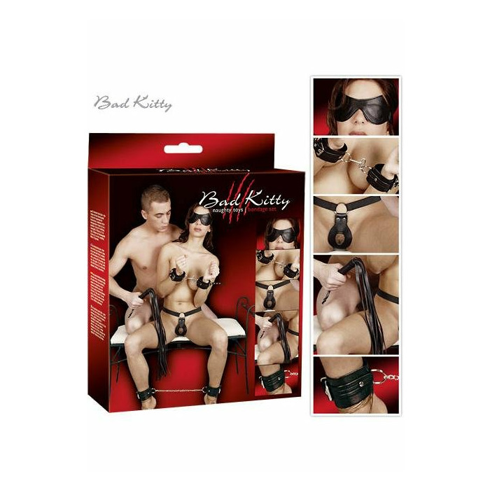 Bad Kitty Bondage Kit Extreme Restraints Set