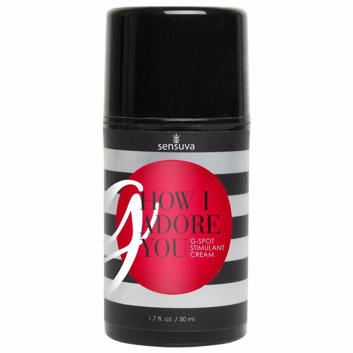 Sensuva G, How I Adore You krems G-punktam (50 ml) 50 ml