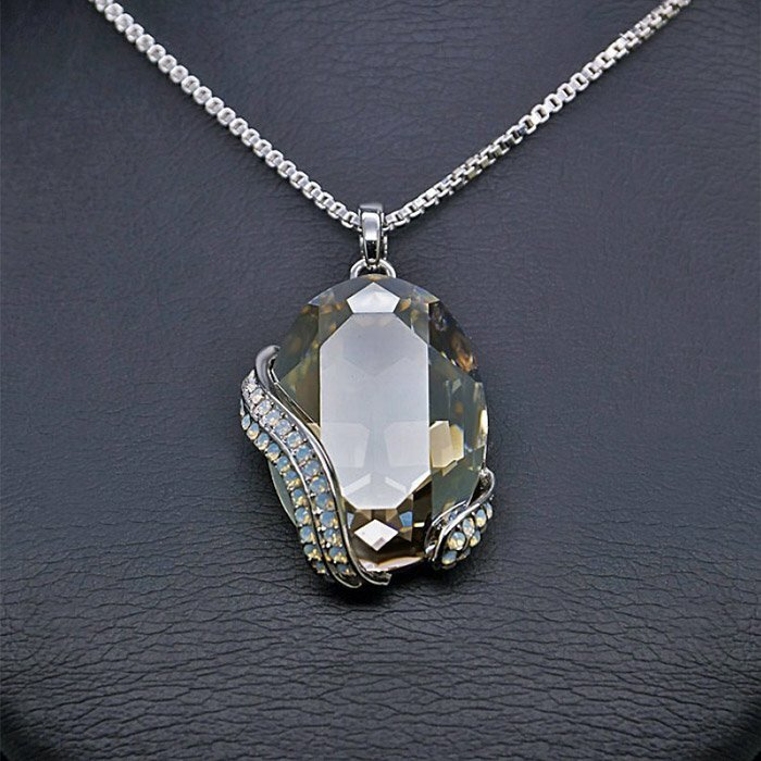 """Crystal Motif II"" pendant with Crystals From Swarovski™"