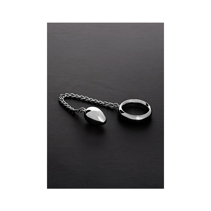 Donut C-Ring Anal Egg (55/55mm) with chain