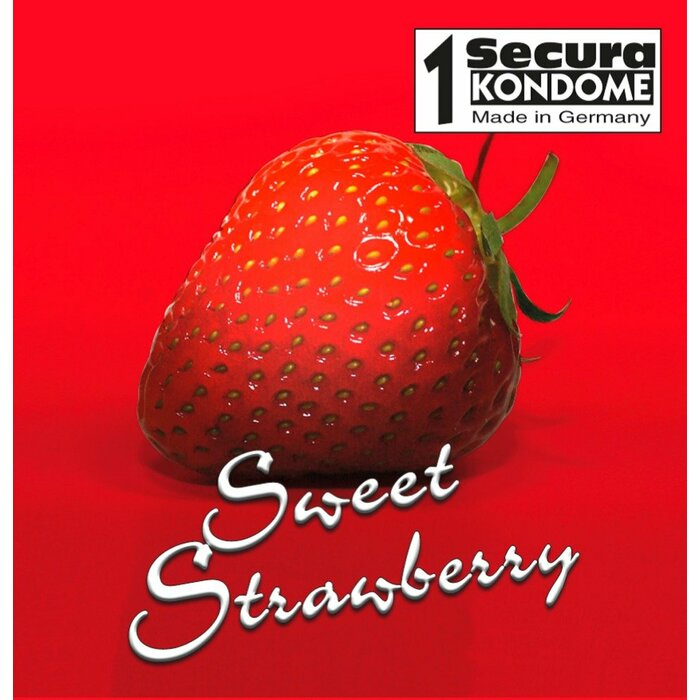 Secura Sweet Strawberry (1 / 50 шт.) 1 шт.