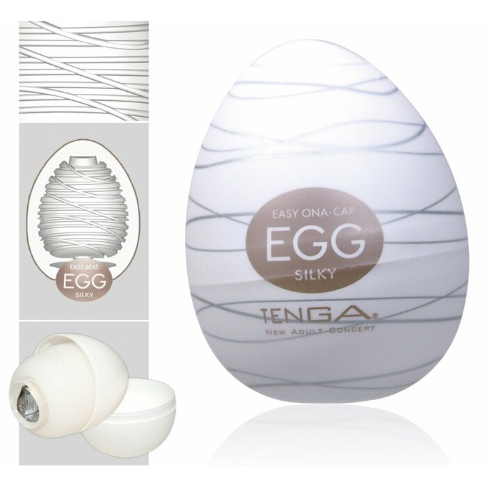 TENGA Egg Silky Single