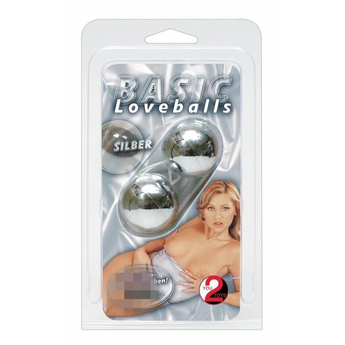 Basic Love Balls silver