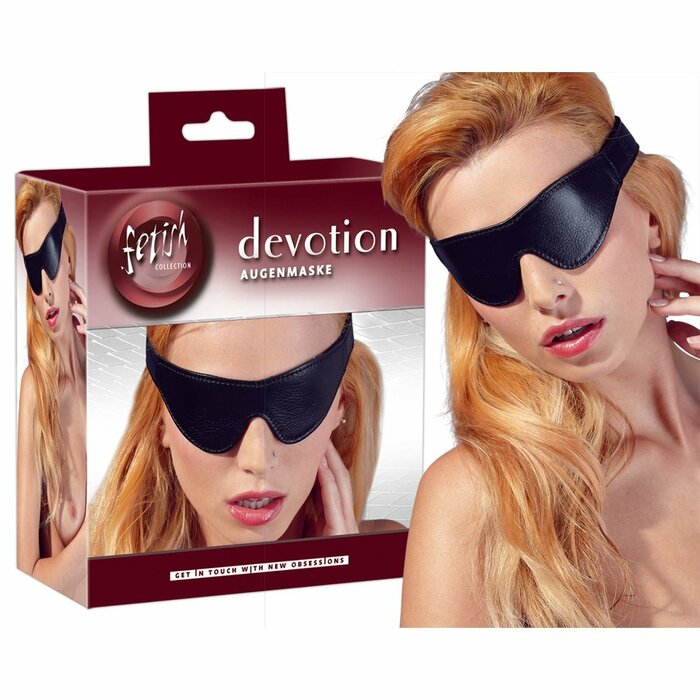 Eye Mask Imit. Leather