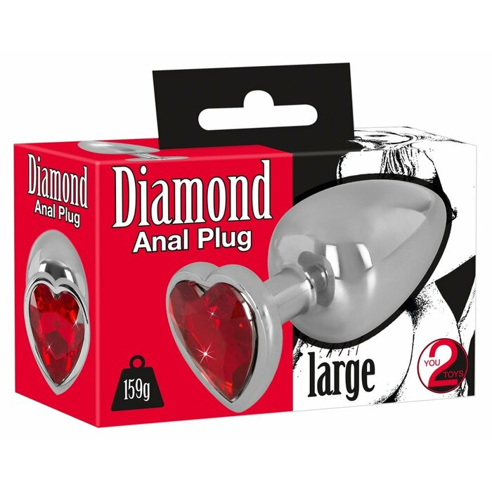Diamond Butt Plug large
