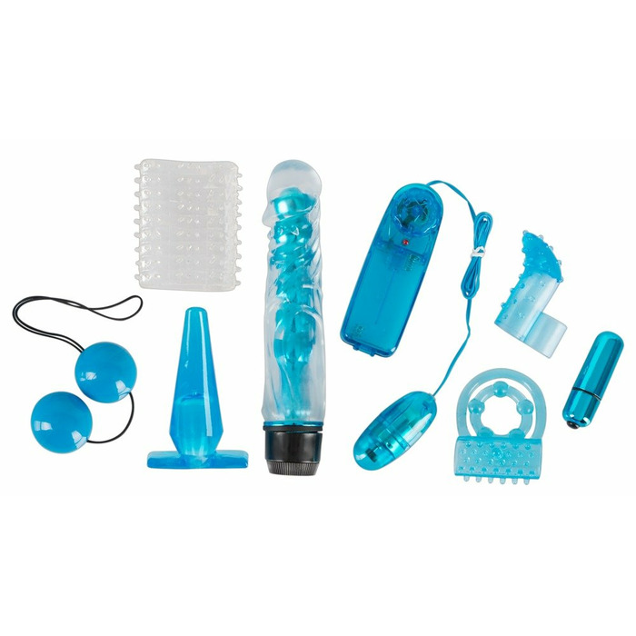 Blue Appetizer 8-piece set