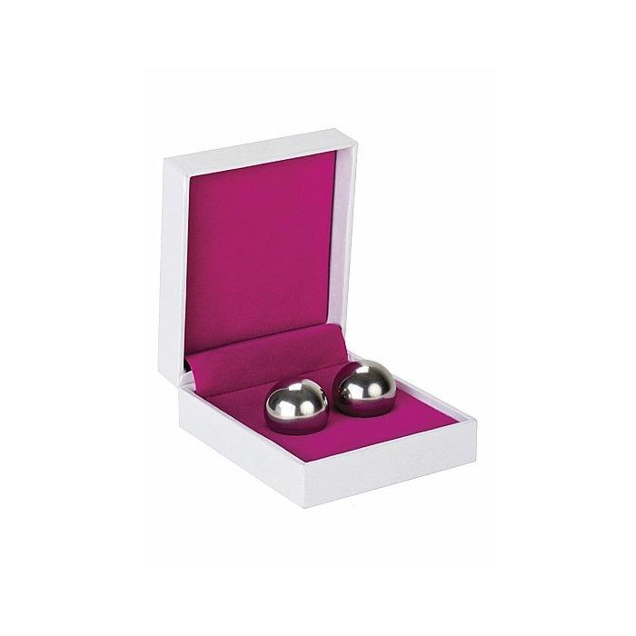 Ben Wa Balls - Medium Weight - Silver
