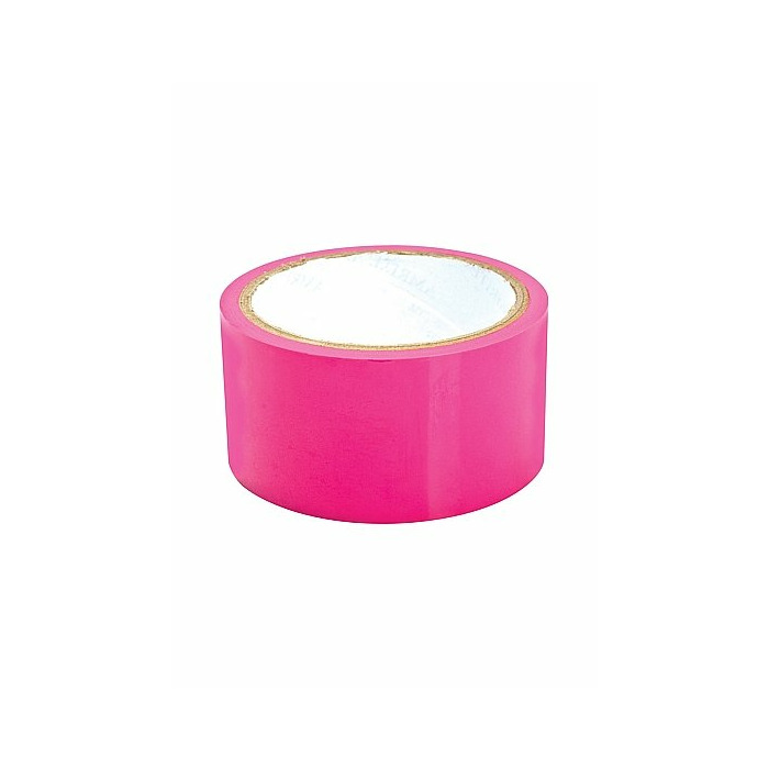 Sex Please! Dominate Me Self-Adhesive Bondage Tape - Pink