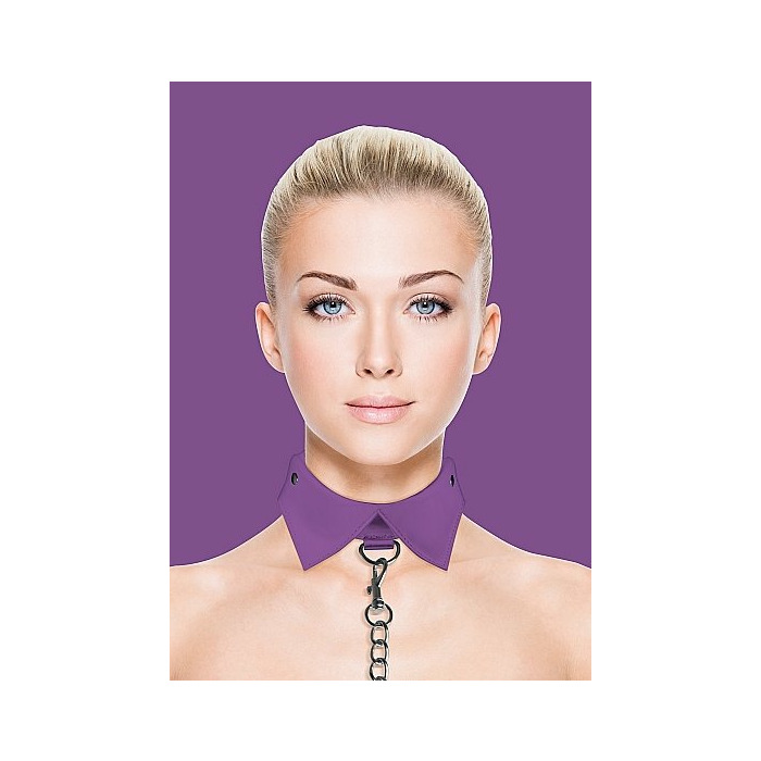 Exclusive Collar & Leash - Purple
