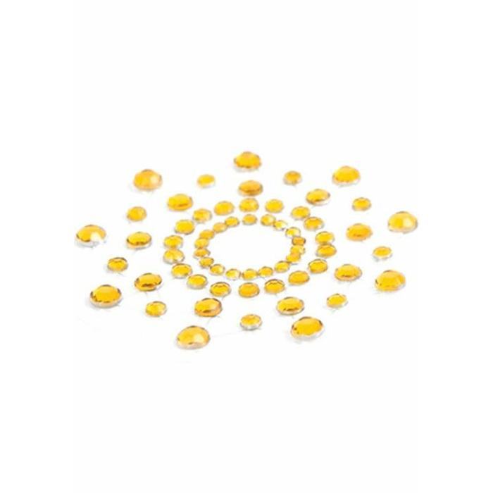 Bijoux Indiscrets Mimi krūšu dekori (2 gab.) Zelta
