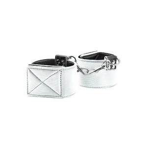 Reversible Ankle Cuffs - White