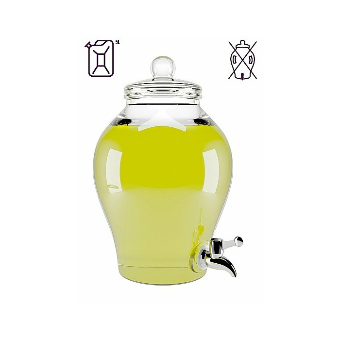 Waterbased Lube - Lemon - 5L