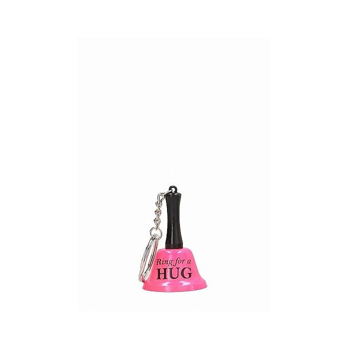 Ring For A Hug - Keyring - Pink