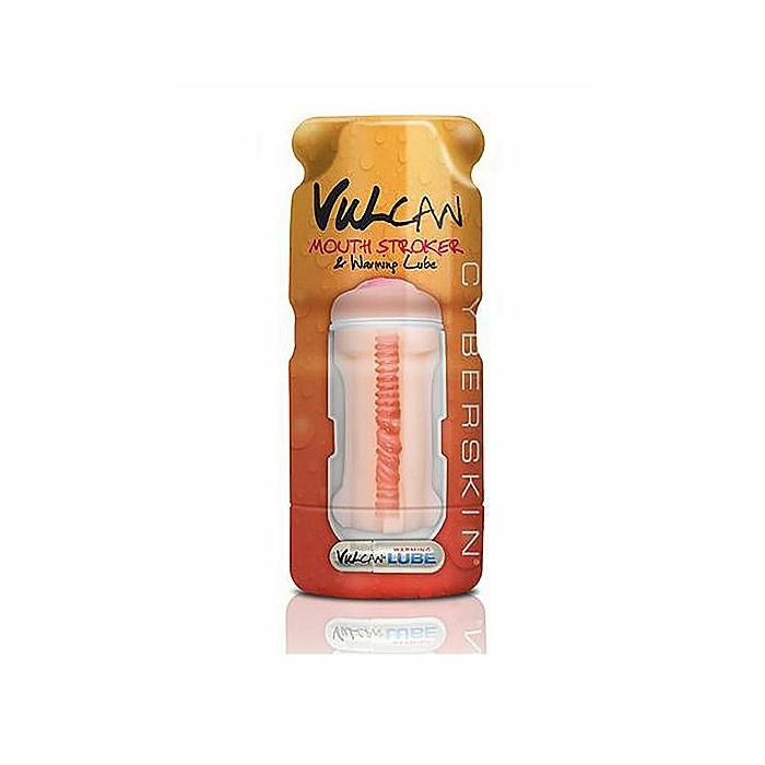 Vulcan Mouth Stroker w/ Warming Lube - Cream