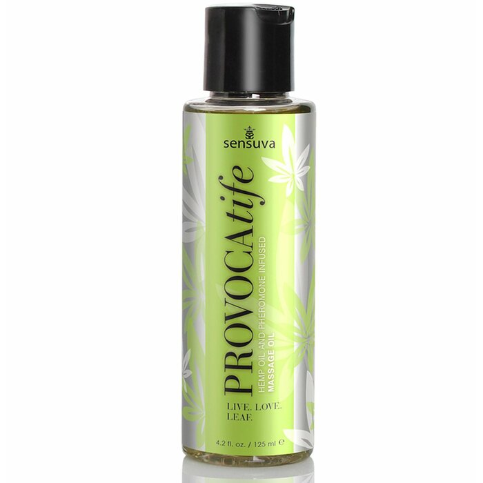 Sensuva Provocatife Hemp aromatiskā masāžas eļļa (120 ml) 120 ml