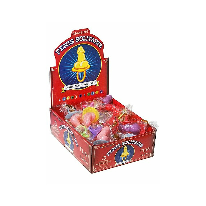 Penis Solitaire Tub - Display 30 pieces