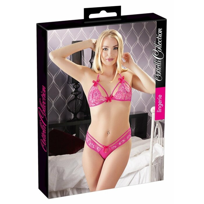 Bra and Briefs pink S/M