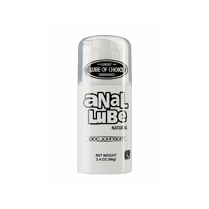Anal Lube - Mega Pump - Natural