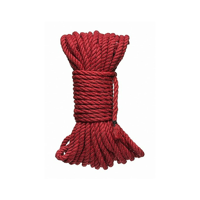 KINK - 6mm Hemp Bondage Rope - 50 Ft. Red