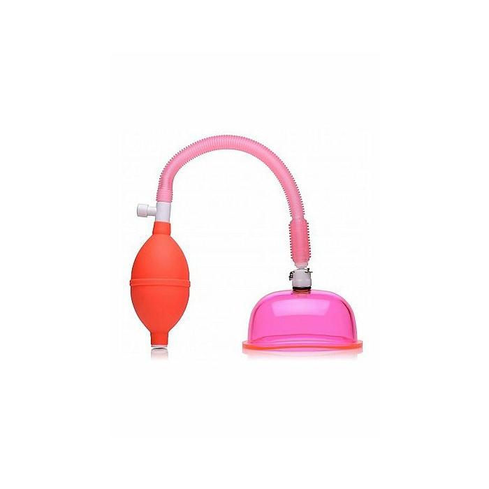Vaginal Pump with 3.8 Inch Small Cup - Pink