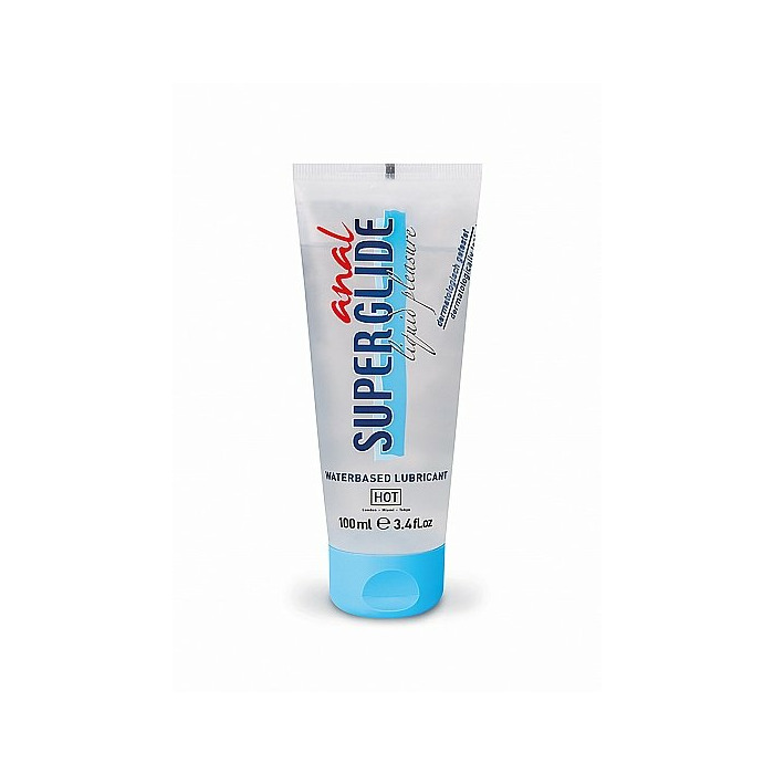 HOT Anal Superglide Liquid Pleasure - waterbased lubricant - 100