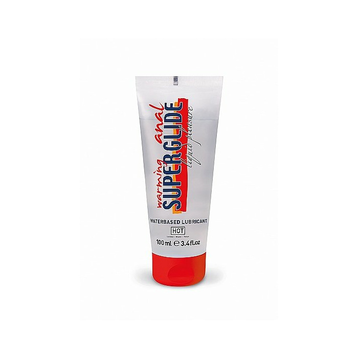 HOT Anal Superglide Warming Liquid Pleasure - waterbased lubrica