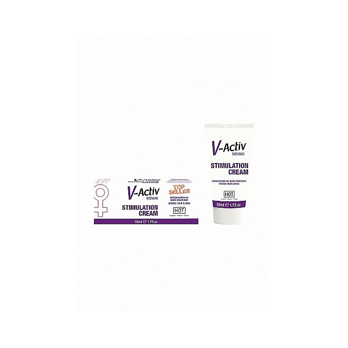 HOT V-Activ stimulation cream for women - 50 ml