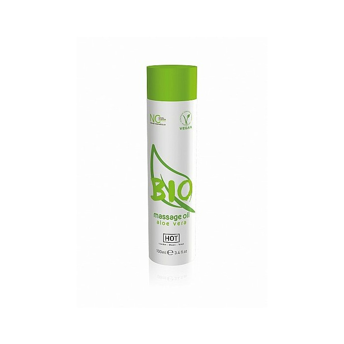 HOT BIO massage oil - Aloë vera - 100 ml