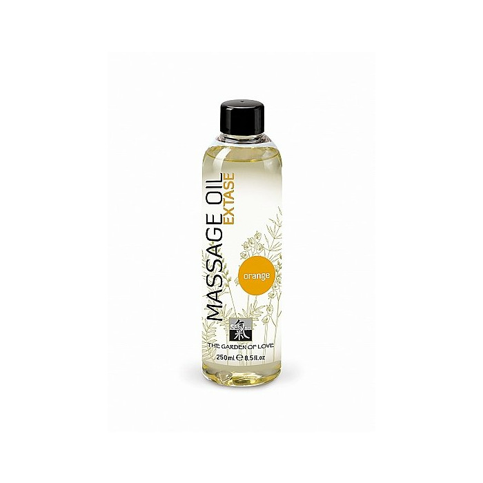 SHIATSU Massage oil extase - orange - 250 ml