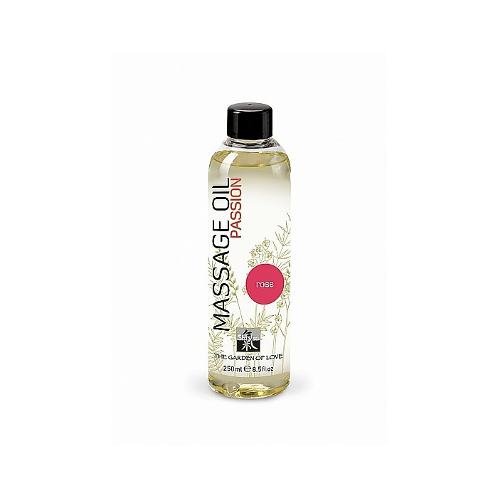 SHIATSU Massage oil extase - rose - 250 ml