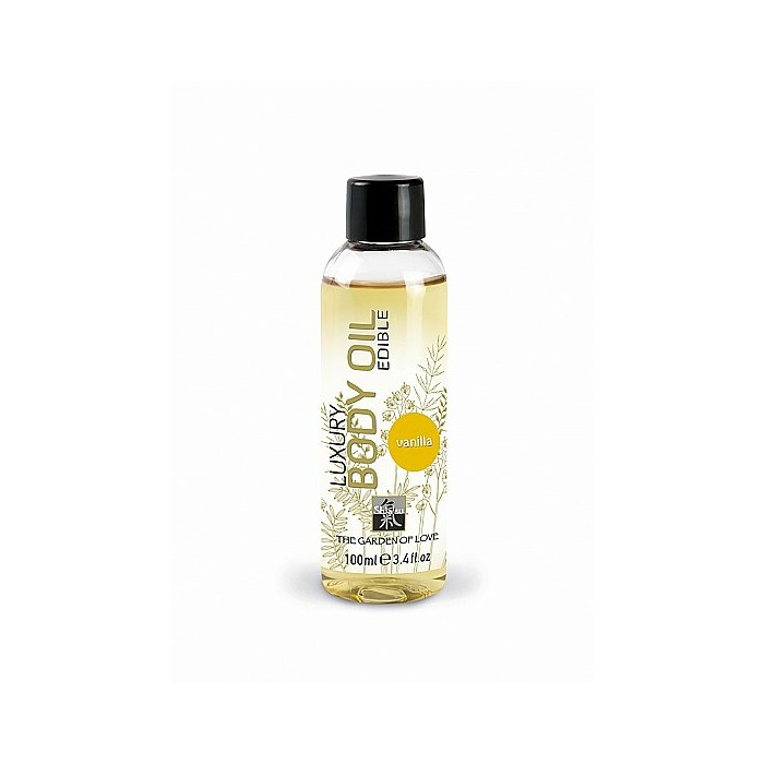 SHIATSU Luxury body oil - vanilla - 100 ml