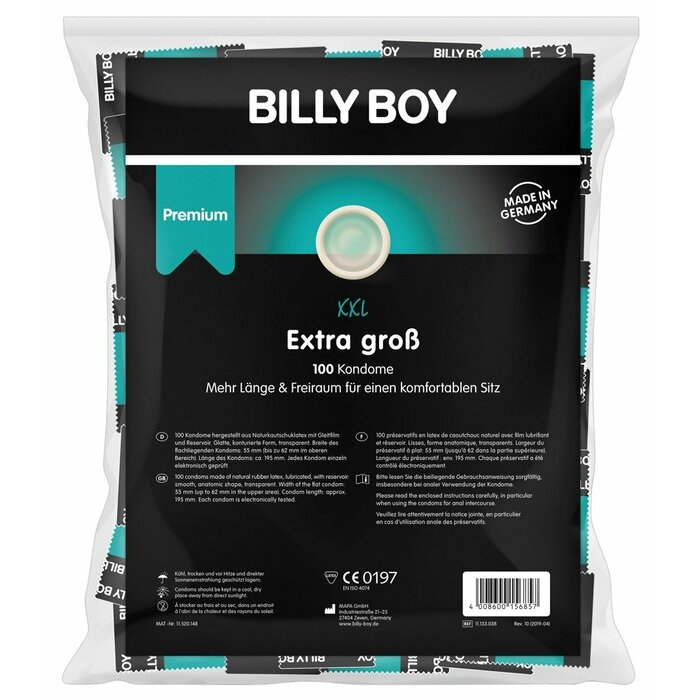 Billy Boy XXL 100pc.