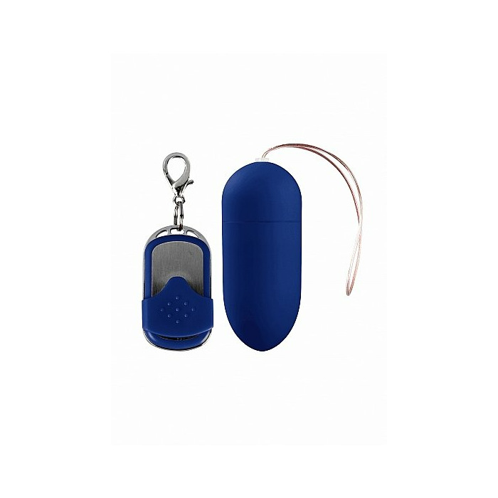 10 Speed Remote Vibrating Egg - Big - Blue