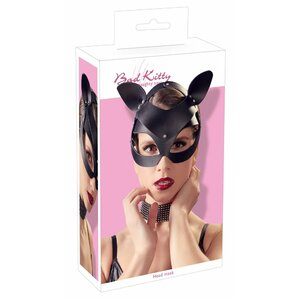 Bad Kitty Cat Mask Rhinestones