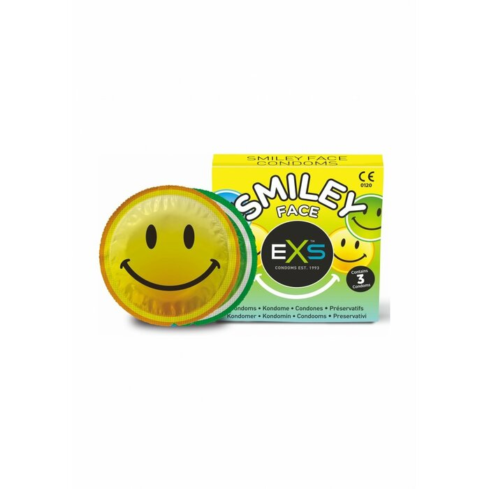 Exs Smiley Face - 3 pack