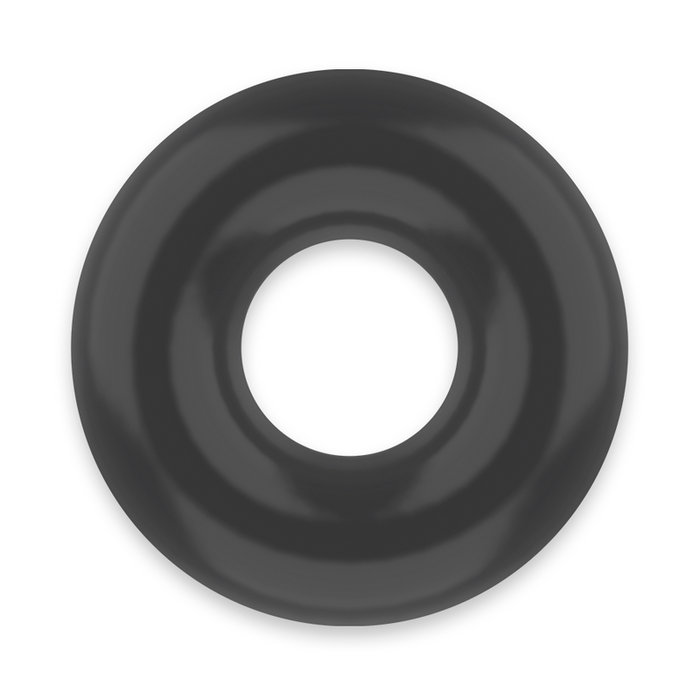 POWERING SUPER FLEXIBLE RESISTANT RING  4.5CM BLACK