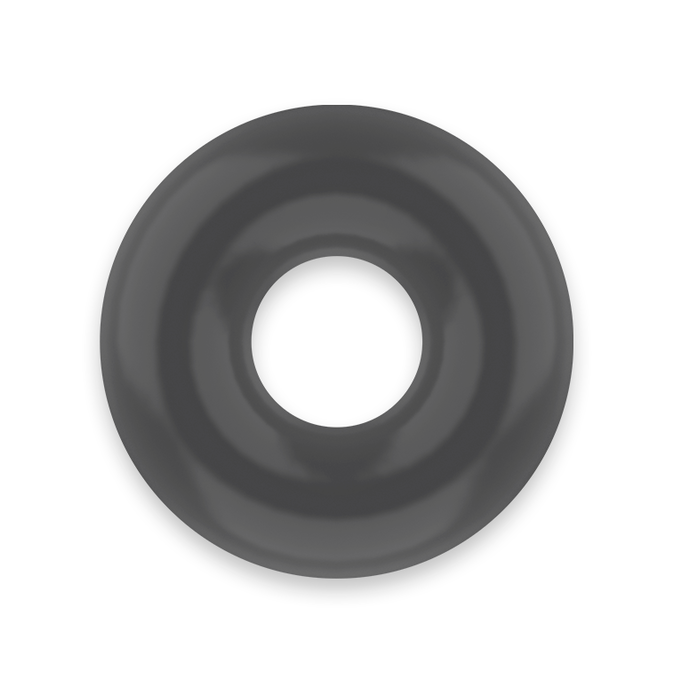 POWERING SUPER FLEXIBLE RESISTANT RING  3.5CM  BLACK