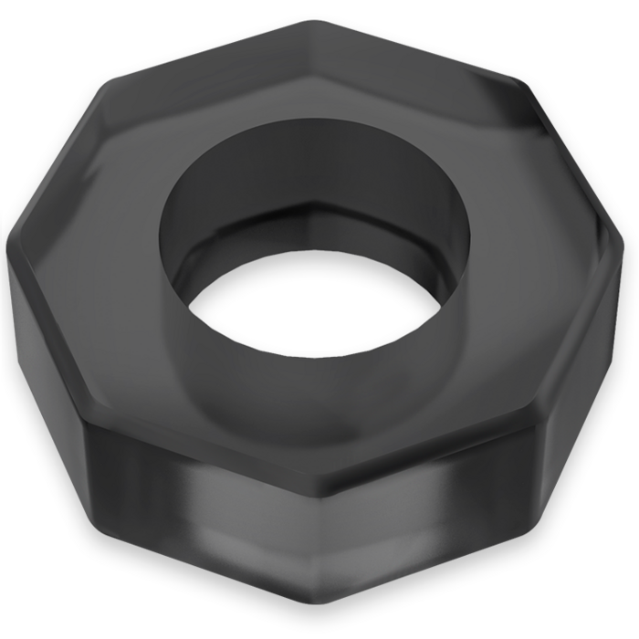 POWERING SUPER FLEXIBLE RESISTANT RING  5CM PR10  BLACK
