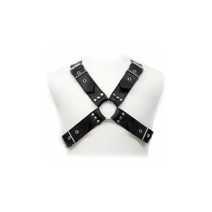 LEATHER BODY BUCKLES HARNESS