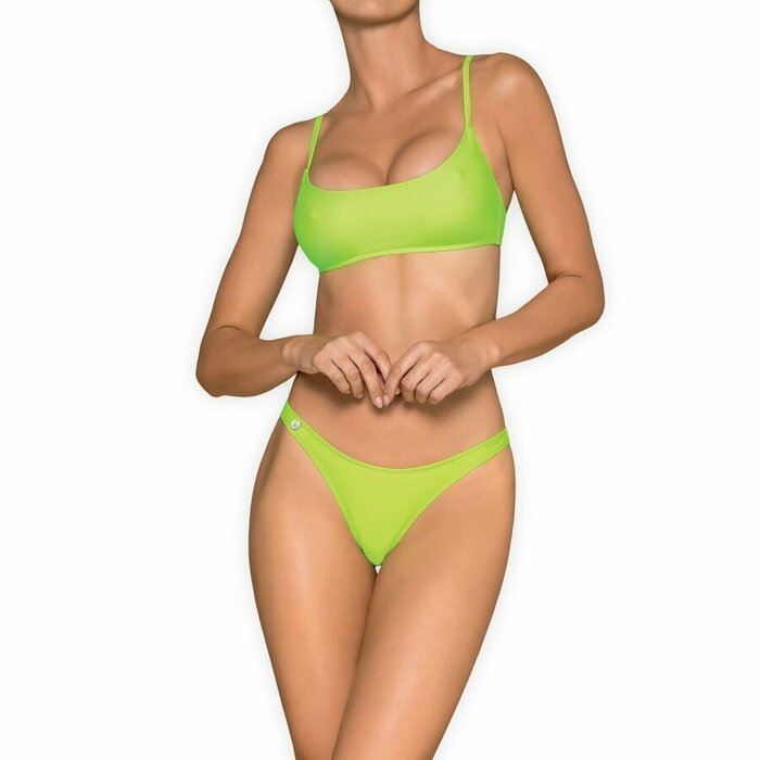 OBSESSIVE - MEXICO BEACH SWIMWEAR - GREEN M