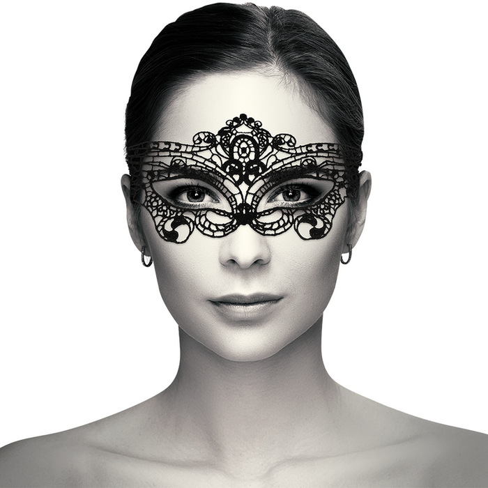 COQUETTE CHIC DESIRE LACE MASK BLACK