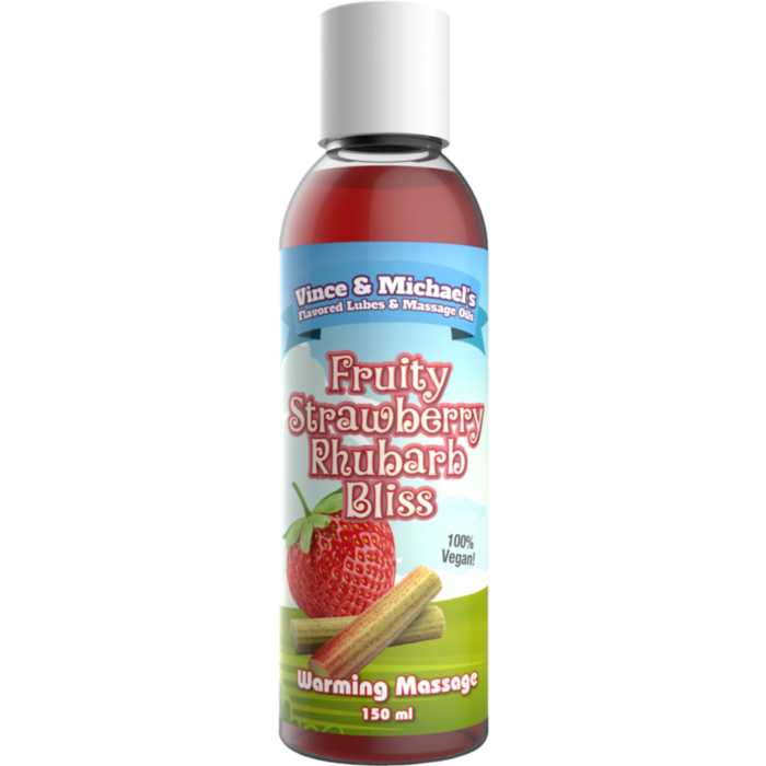 VINCEN & MICHAELŽS   PROFESSIONALOIL  STRAWBERRY WITH  RHUBARB 150ML