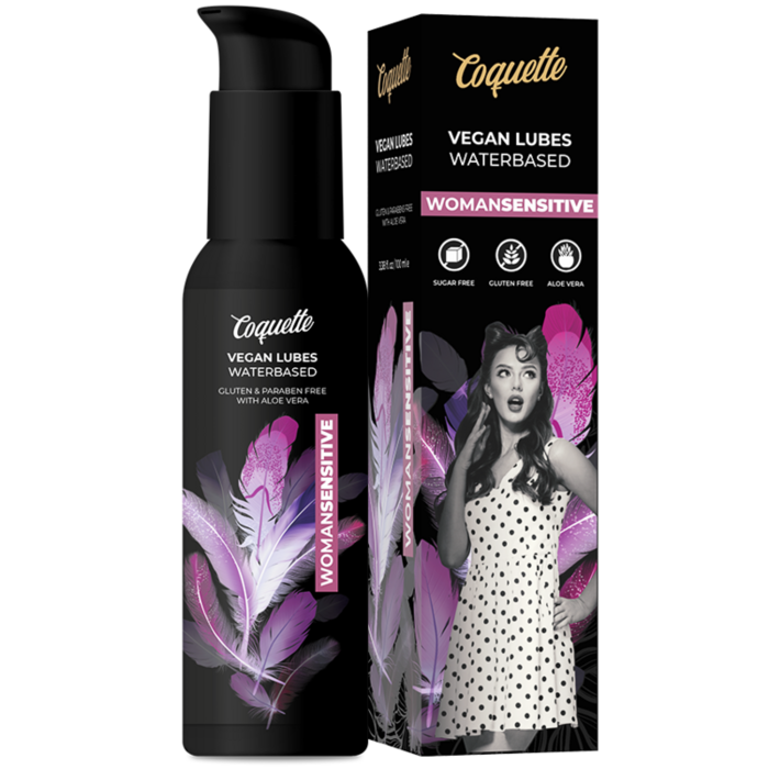 COQUETTE PREMIUM EXPERIENCE 100ML VEGAN LUBES WOMANSENSITIVE