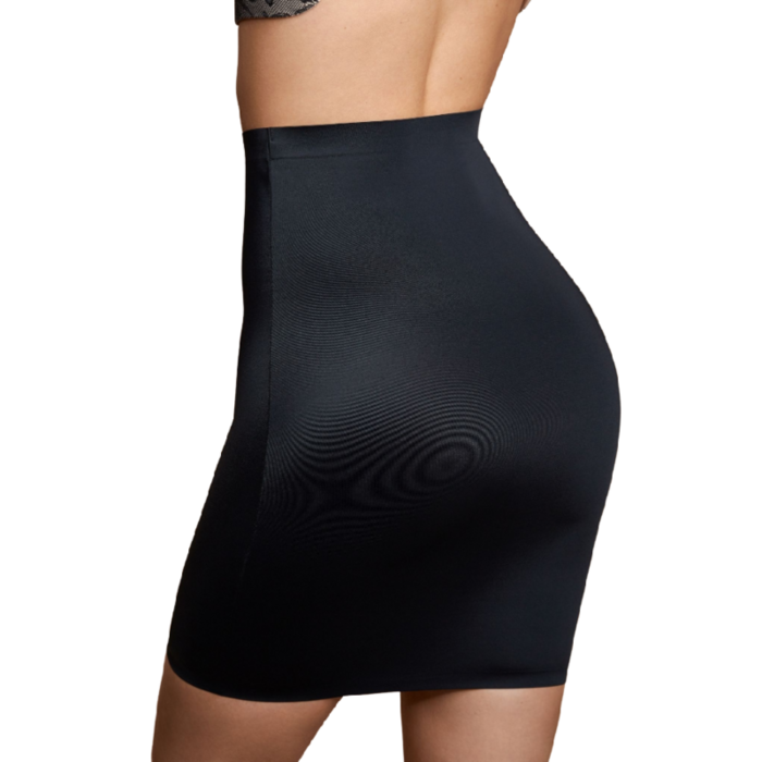 BYE BRA INVISIBLE SKIRT LIGHT CONTROL - BLACK S