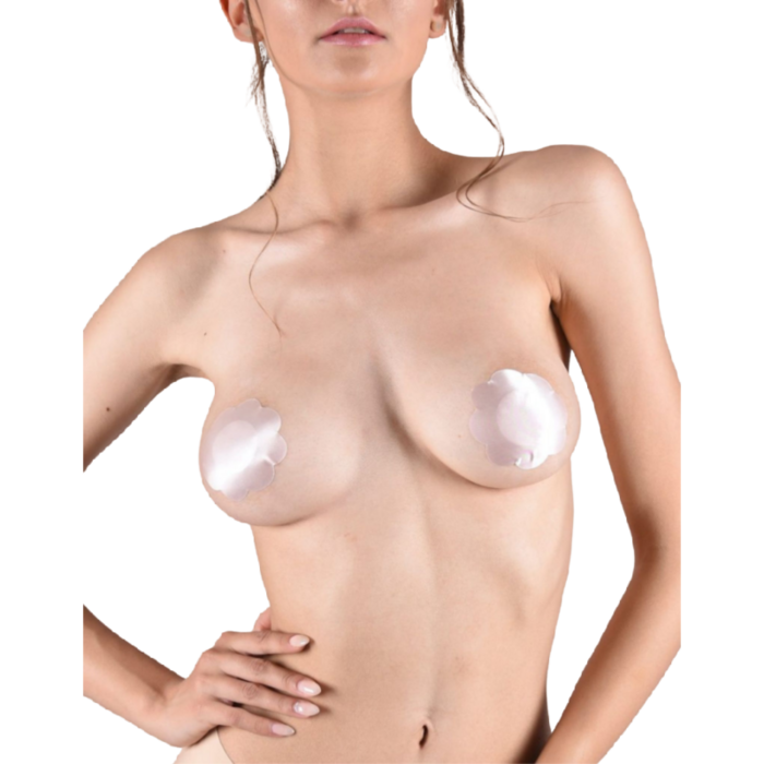 BYE BRA SATIN NIPPLE COVERS 3 PACK M