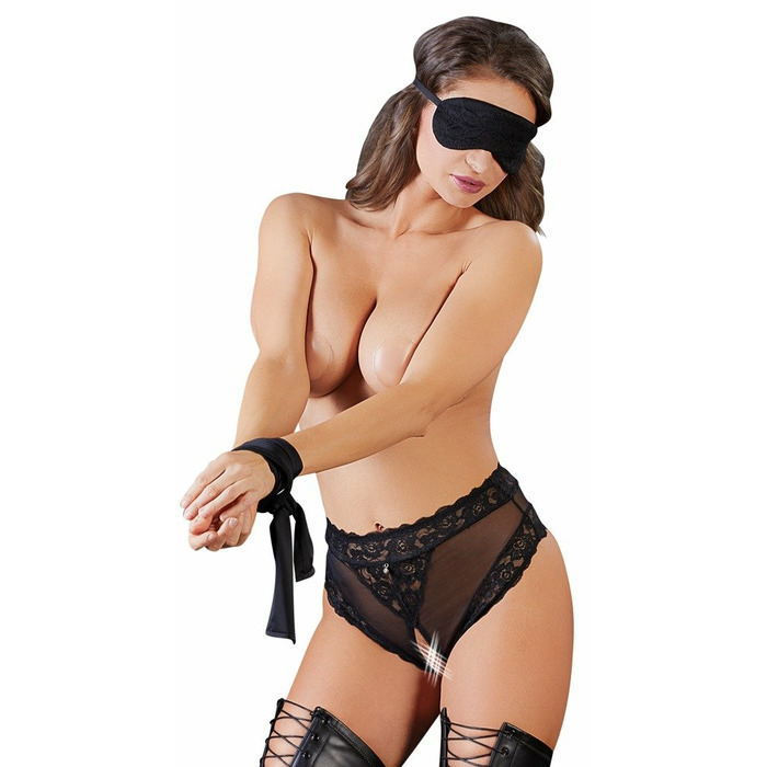 Panties, Blindfold and Scarf L