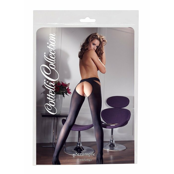 Stockings black L/XL