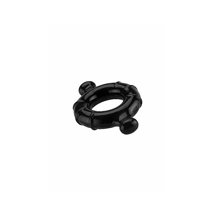 Gummy Ring - Medium - Black