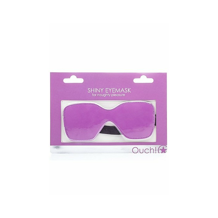 Shiny Eyemask - Purple