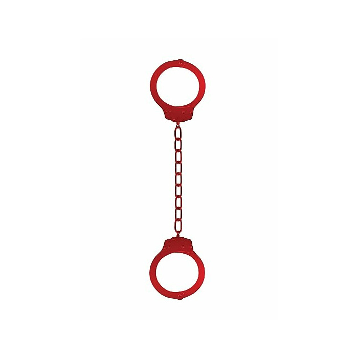 Metal Ankle / Hand Cuffs - Red